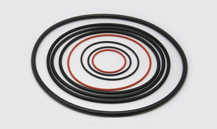 Oリングの材料特性と選定イメージ