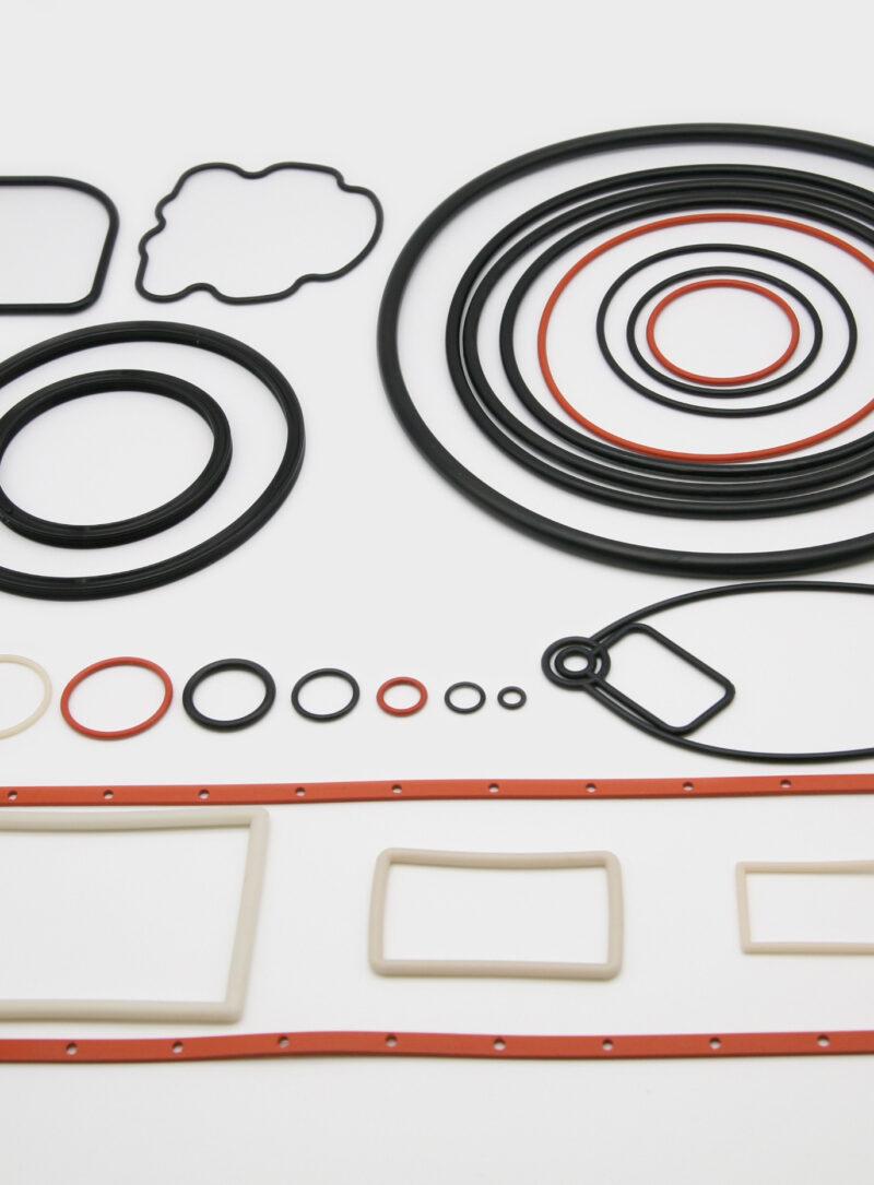 産業機械用ゴム製品イメージ